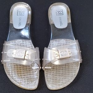 Chanel Acrylic Slides